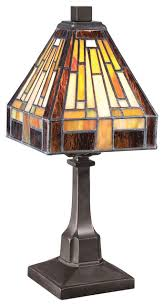 quoizel lighting tf1018tvb tiffany stained glass 1 light table lamp craftsman table lamps by elitefixtures