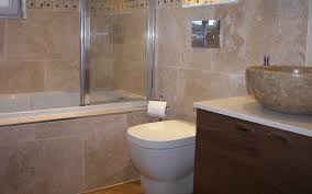 beige bathroom tile ideas grey color ceramics wall layers white square shape bat golden color standing