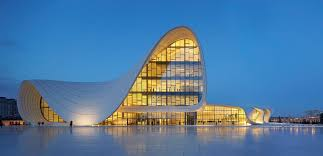 big view photography. Fine View Architectural Photographers Allan CrowHeydar Aliyev Center  Zaha Hadid  Architects Image  With Big View Photography A