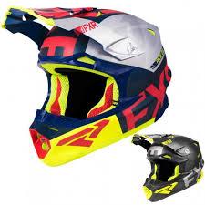 Fxr Racing F19 Blade 2 0 Carbon Evo Mens Snowmobile Helmets