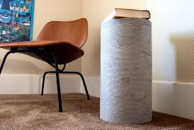 concrete side table. Picture Of Concrete Side Table And Stool