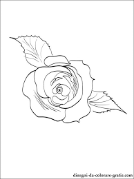 Rametto Di Rose Disegni Da Colorare Disegni Da Colorare Gratis