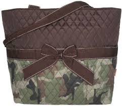 Camo Quilted Diaper Bag with Brown Trim by littleblessings99 ... & Camo Quilted Diaper Bag with Brown Trim by littleblessings99, $32.95 Adamdwight.com