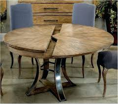 self storing expandable dining table stunning round dining table with leaf table com com expandable round
