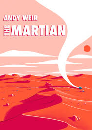 The Martian Book Cover on Behance