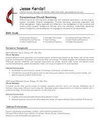 Pastoral Resumes Pastoral Resume Samples Barca Fontanacountryinn Com