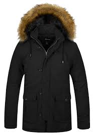 Wantdo <b>Men's</b> Winter <b>Thicken Cotton Jacket</b> Warm Outwear <b>Coat</b>