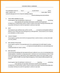 Sample Apartment Rental Agreement | Cvfree.pro