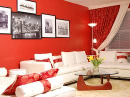 ... Red Living Room Interior Design Ideas 9 ...