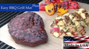 Easy BBQ Grill Mat As Seen TV Grill Mat