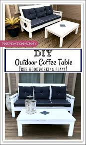 diy outdoor coffee table free woodworking plans pinspiration mommy buil