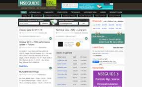Nseguide Technical Chart Nseguide Com Website Nse Bse Free Intraday Daytrading Btst