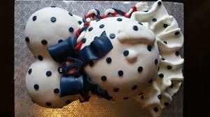 Navy Anchor Baby Bump Cake CakeCentral