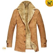 mens fur lined trench coat cwmalls com