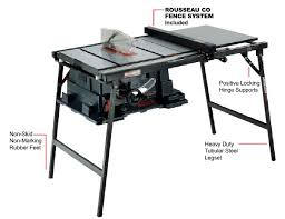 4100 and rousseau table saw stand or diy stand or pro construction forum be the pro