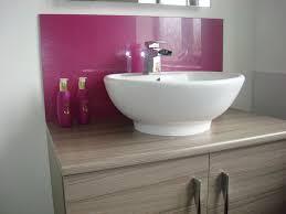 the number one uk basin splashback suppliers sprayed good looking shower splashback