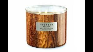 bourbon bath and body works bath body works candle review bourbon maple new for fall 2017