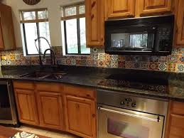 Mexican Tile Kitchen Mexican Tile Countertops