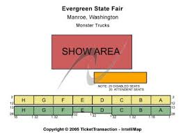 Wa State Fair Concert Seating Chart Evergreen State Fair Tickets And Evergreen State Fair