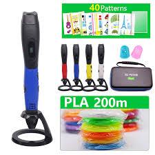 New Arrival 3D Pen <b>3d printing Pen Add</b> 50/100/200 meter PLA ...