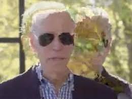 Hologram Joe Biden seen breaking... - Reptilian Resistance | Facebook