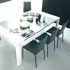 light grey dining furniture room chair leather chairs contemporary dinette gloss table from atlanta 160 cm