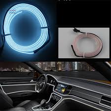 ambient interior lighting. JingXiangFeng 1 5 M Atmosphere Lamps Car Interior Light Ambient Cold Line DIY Decorative Dashboard Console Door Styling-in Signal Lamp From Automobiles Lighting G