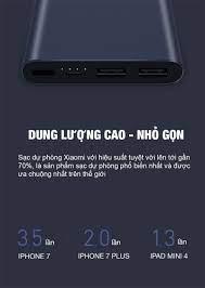 Pin sạc dự phòng Xiaomi Mi Gen 2 10000 mAh chính hãng TOPMUA