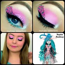 monster high makeup ideas resume vandala doubloons costume eye
