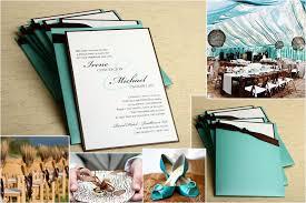 collage wedding invitations tiffany wedding invitations