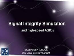 Signal Integrity In Pcb Design Ppt Ppt Signal Integrity Simulation Powerpoint Presentation