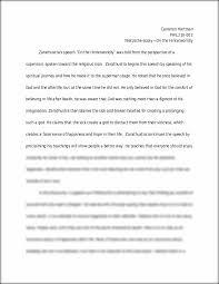 essay on the hinterworldly cameron hartman phil nietzsche essay on the hinterworldly cameron hartman phil216 002 nietzsche essay on the hinterworldly zarathustra s speech ldquoon the hinterworldlyrdquo was