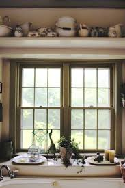 Decorating Ideas for High Shelves and Window Sill