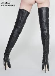 2016 arollo thigh high boots crotch length overknees links
