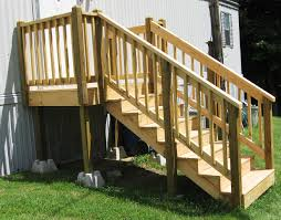 mobile home porch steps in beautiful designs appeal your own taste 18