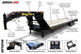 big tex gooseneck trailers big tex trailer world features spotlight gooseneck trailers big tex