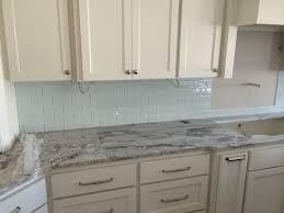 Cheap Backsplash Kitchen Stunning Grey Backsplash For Elegant Kitchen Idea