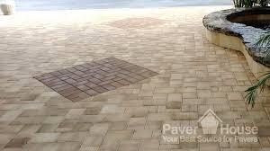 patio paver installation art pool