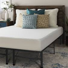 Shop Crown Comfort 8-inch Memory Foam Mattress with Bed Frame Set ...