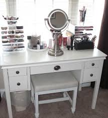 vanities bedroom elegant lighted makeup vanity sets ideas including enchanting bedroom