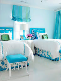 Teal Colored Bedrooms Teal And White Bedroom