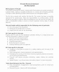Personal Assistant Job Description Cool Maintenance Job Description For Resume Publix Cashier Job