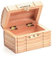 Plain Wooden Boxes To Decorate Amazon Walnut Hollow Unfinished Wood Classic Box with Hinged 78