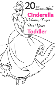 25 Cinderella Coloring Pages
