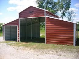 Carports  Enclosed Carport With Garage Door Garage Extension 2 Size Of A 2 Car Garage