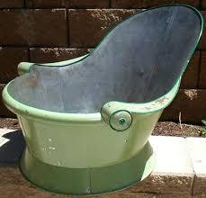 cowboy bath great old tin tub w wood on arm rests galvanized bathtub for zinc image of antique bathtubs
