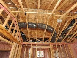 interior overhead duct work