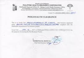 Sample Philhealth Certificate Of Contribution From Employer Archives