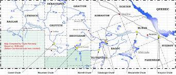 Calabogie Lake Depth Chart The Historic Madawaska River System Renfrew County Ontario