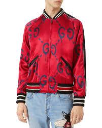 guccighost er jacket red